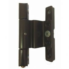 Brown Adjustable Rebated Butt Hinge